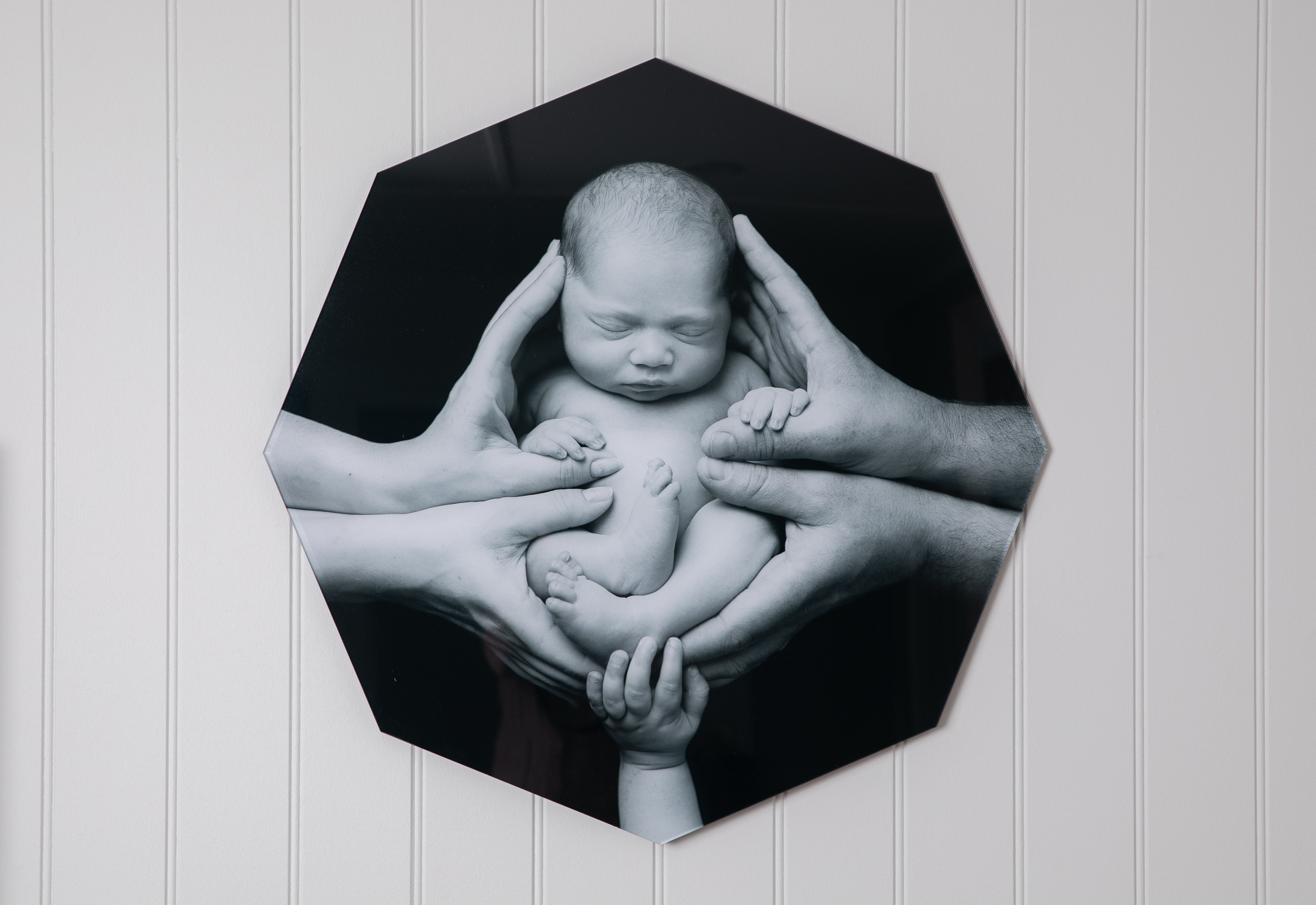 Product - acrylic frame black and white photo