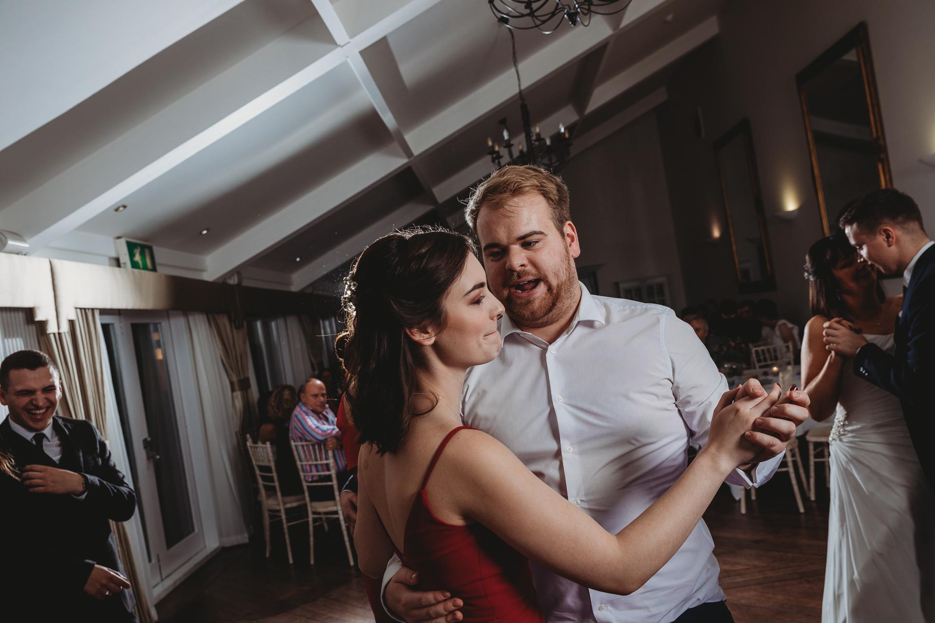 parlour at blagdon dancing, wedding photography